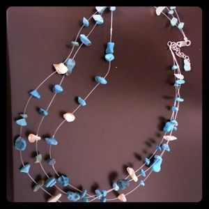 Beautiful silpada floating turquoise necklace